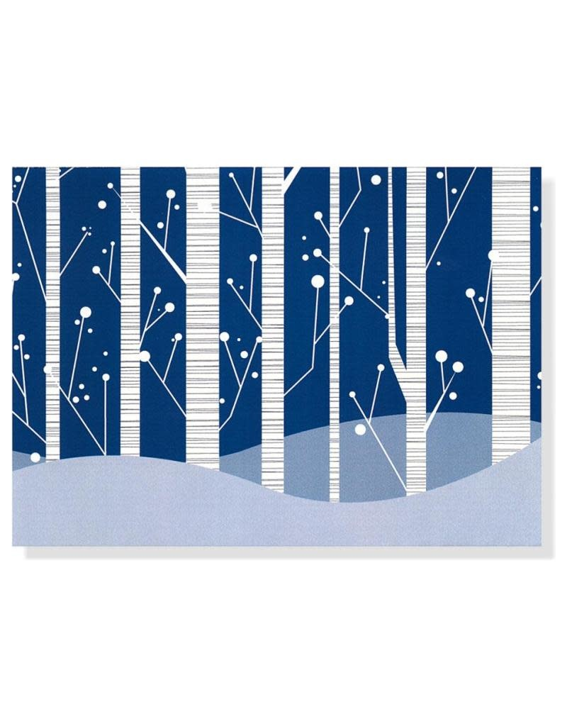 Peter Pauper White Birches Deluxe Boxed Holiday Cards