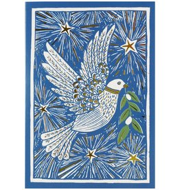 Peter Pauper Woodcut Dove Boxed Holiday Cards