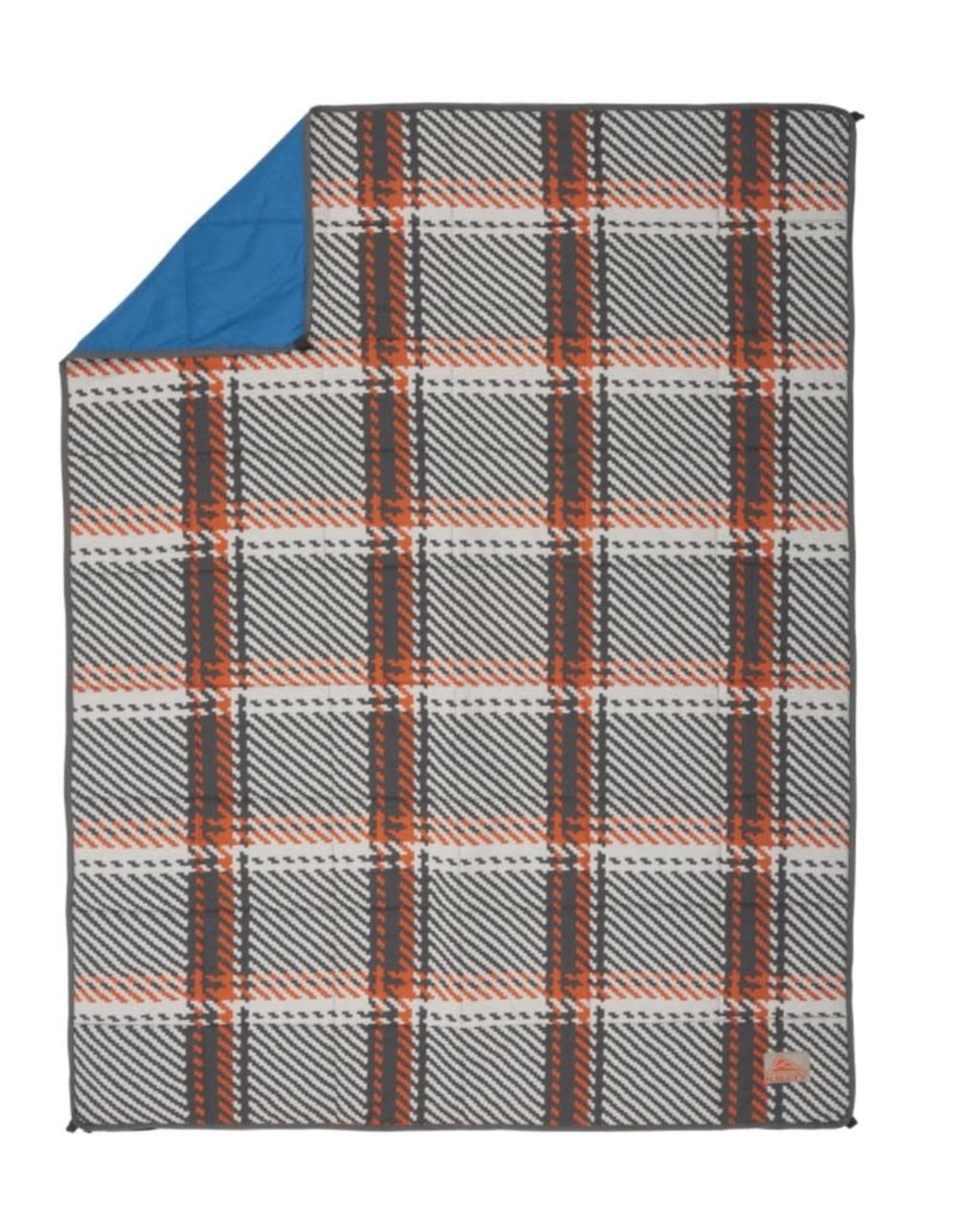 Kelty BFF Blanket Orange Plaid