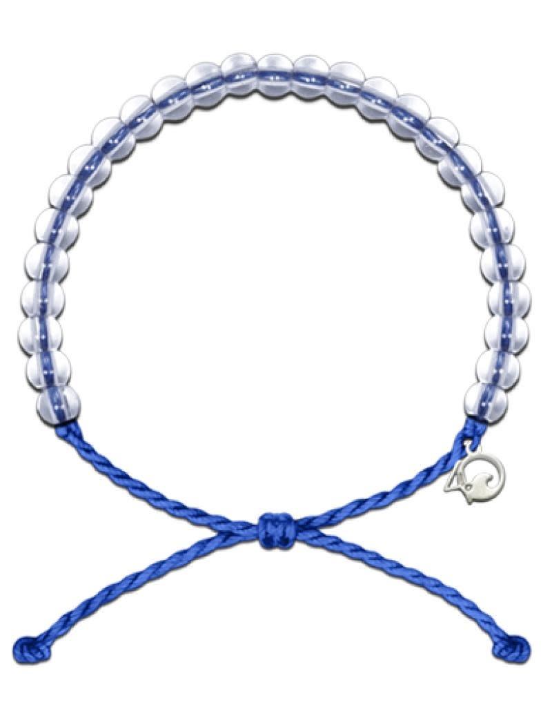 4Ocean Beaded Bracelet Signature Blue
