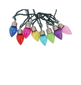 DEI Christmas Bulb String Lights