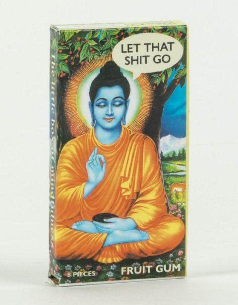 Blue Q Gum Let That Shit Go