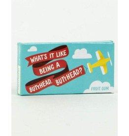 Blue Q Gum Butthead