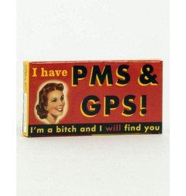 Blue Q Gum PMS & GPS