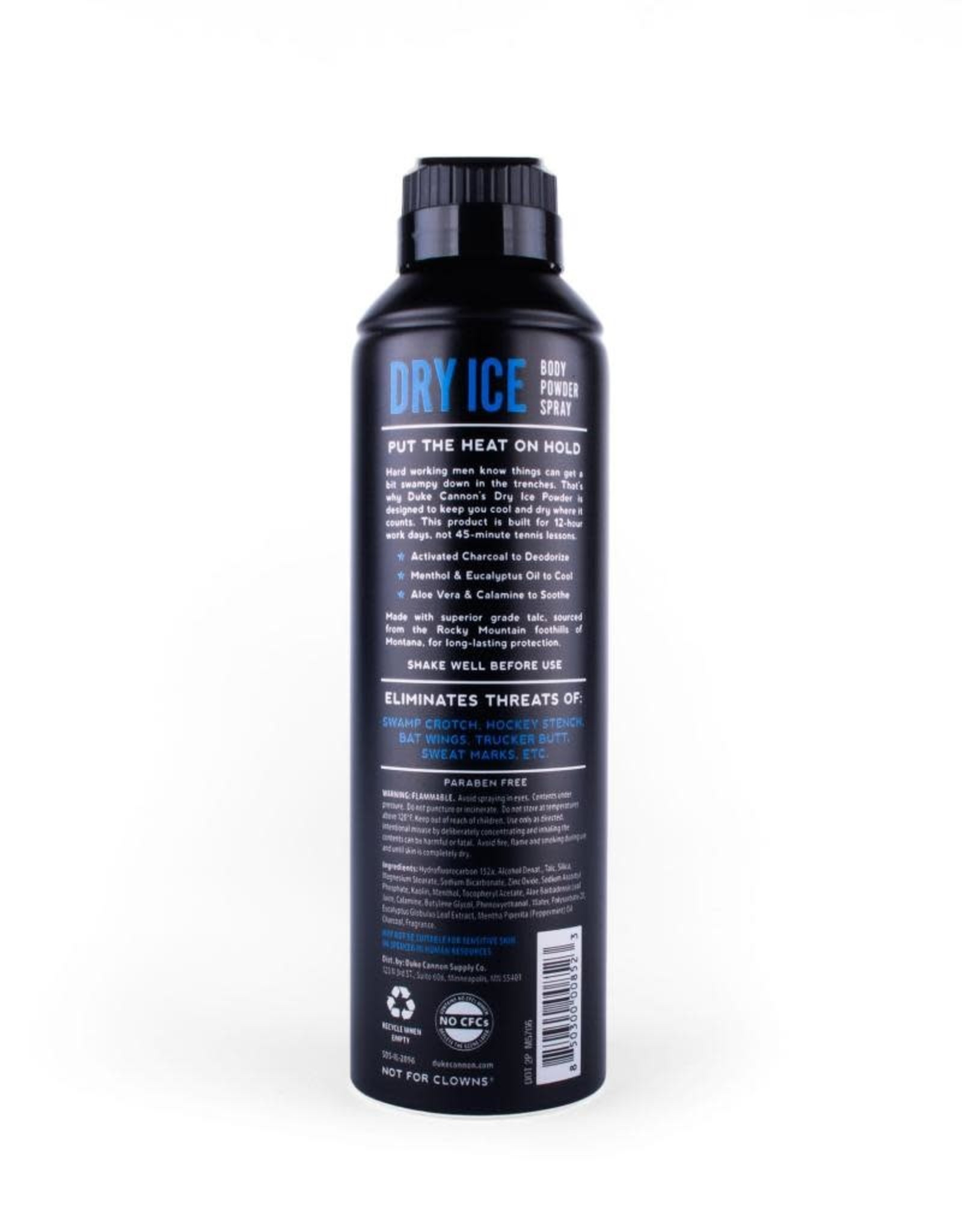 Duke Cannon Supply Co 7 oz Dry Ice Body Spray