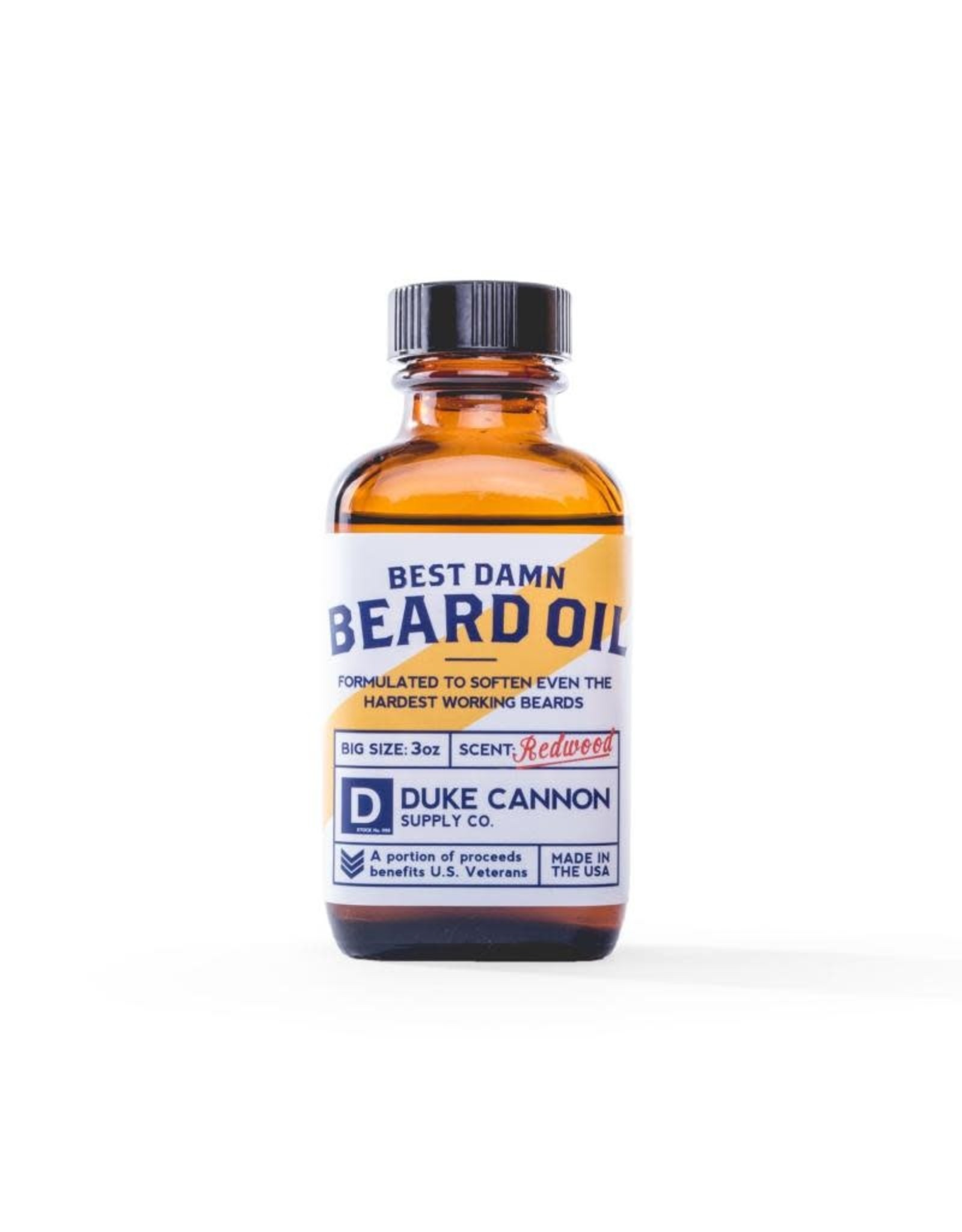 Duke Cannon Supply Co Best damn Beard Oil