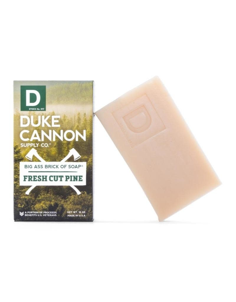 Duke Cannon Supply Co Big Ass Bar of Soap Cut Pine