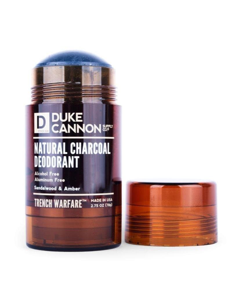 Duke Cannon Supply Co Natural Charcoal Deodorant Sandalwood