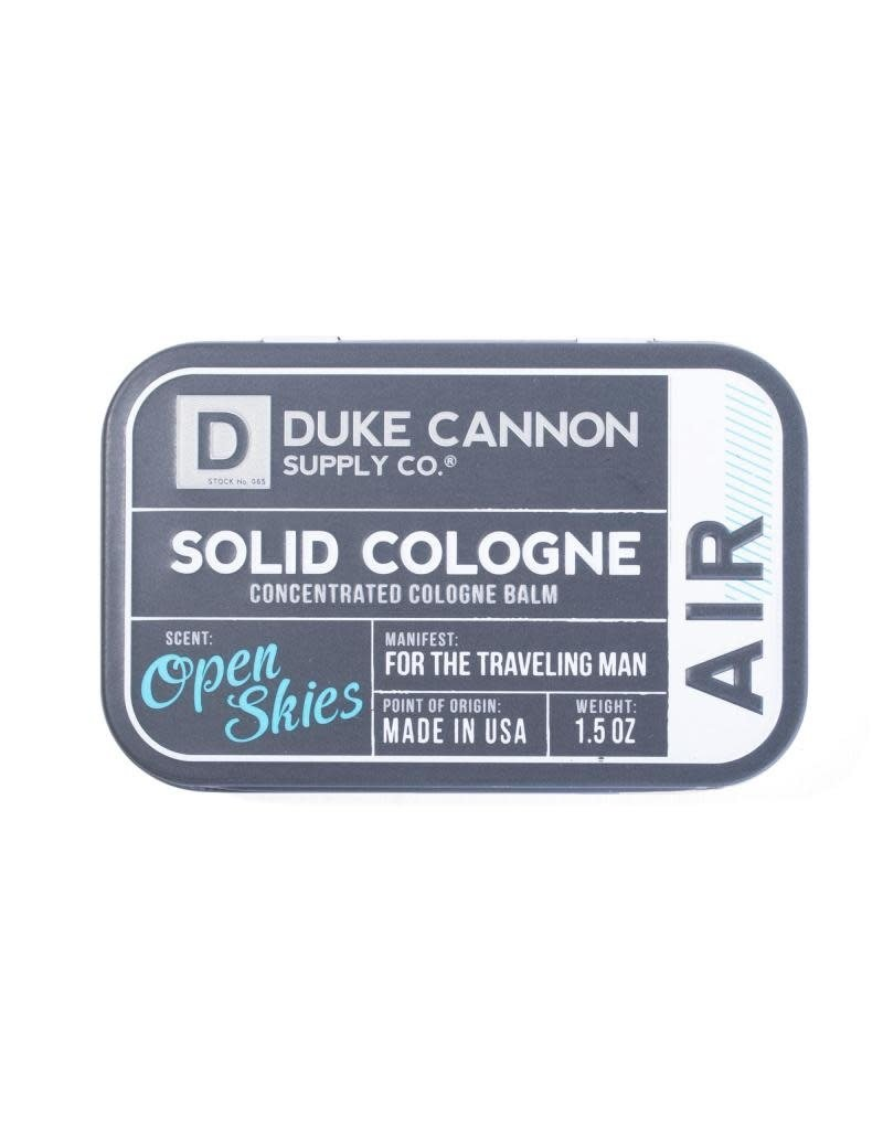 Duke Cannon Supply Co Solid Cologne Air