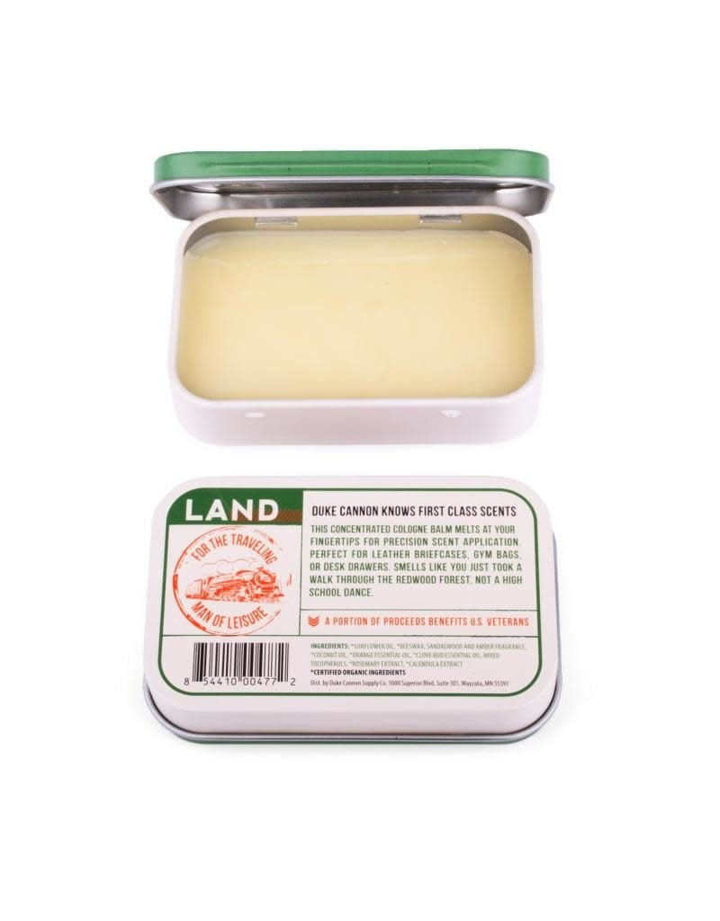 Duke Cannon Supply Co Solid Cologne Land