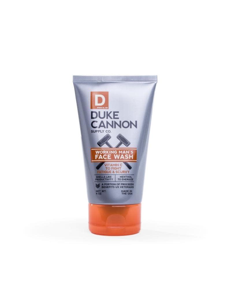 Duke Cannon Supply Co Workingman's Face Wash