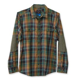 KAVU Men's Brasstown Long Sleeve Shirt