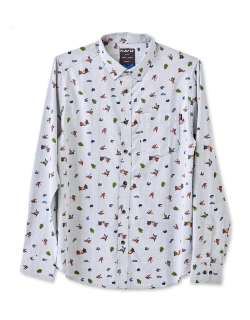 KAVU Men's Linden Long Sleeve Shirt