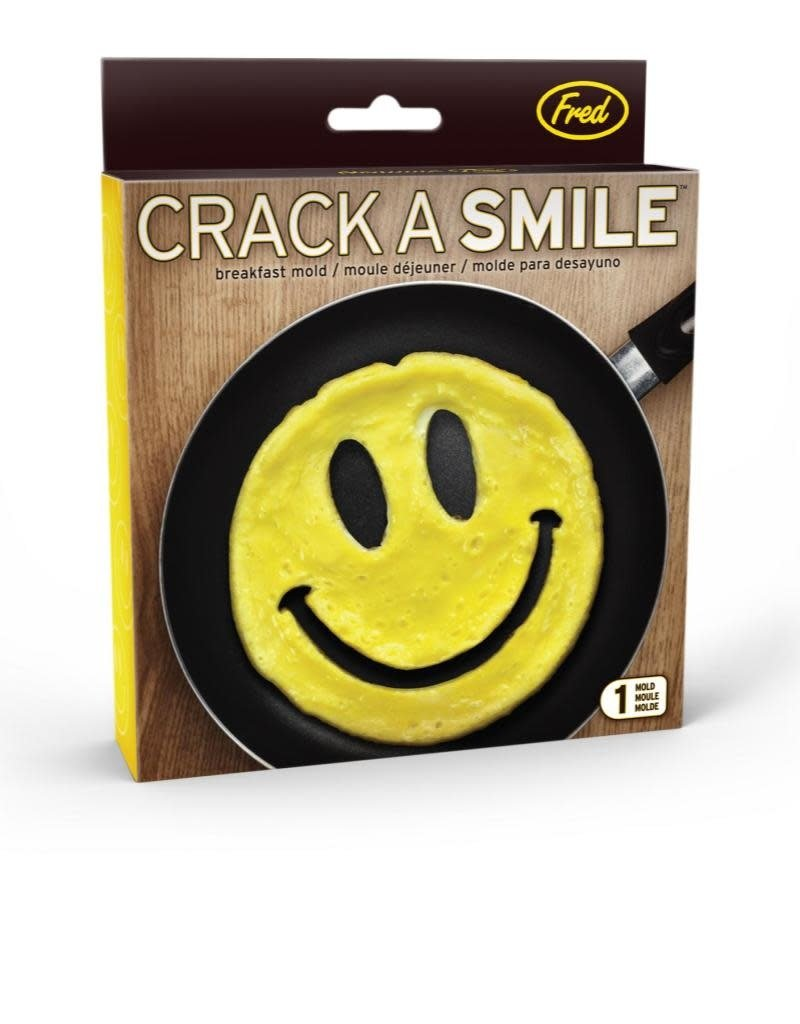 Fred Crack A Smile Smiley Face