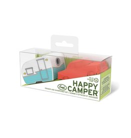 Fred Happy Camper Eraser & Sharpener Set