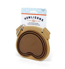 Fred Howligans Collapsible Dog Bowl