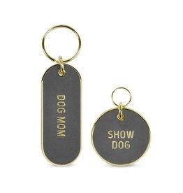 Fred Howligans Keychain & Pet Tag Set Dog Mom