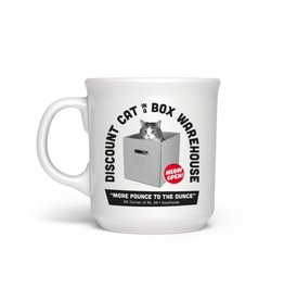 Fred Say Anything Mug Discount Cat In A Box