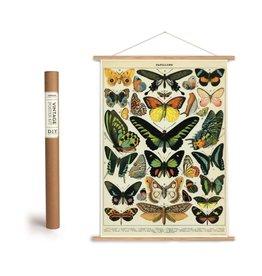 Cavallini Vintage Poster Kit Butterflies