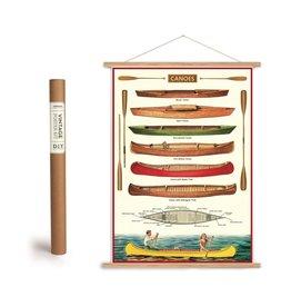 Cavallini Vintage Poster Kit Canoe