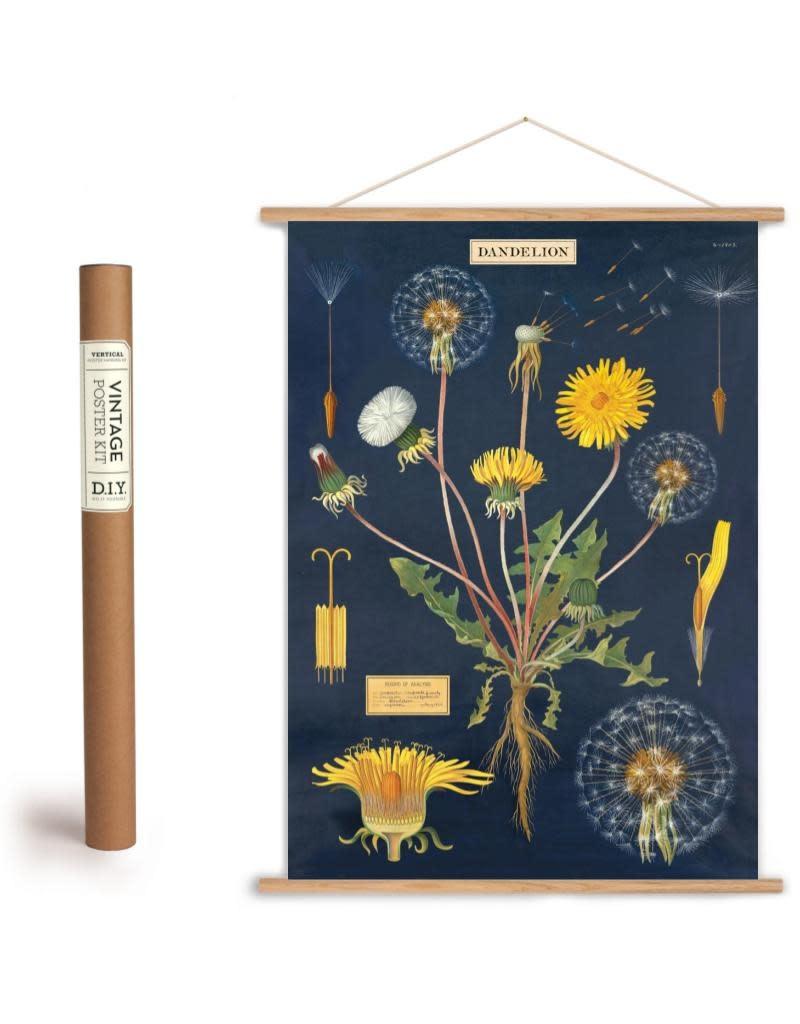 Cavallini Vintage Poster Kit Dandelion
