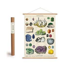Cavallini Vintage Poster Kit Mineralogie