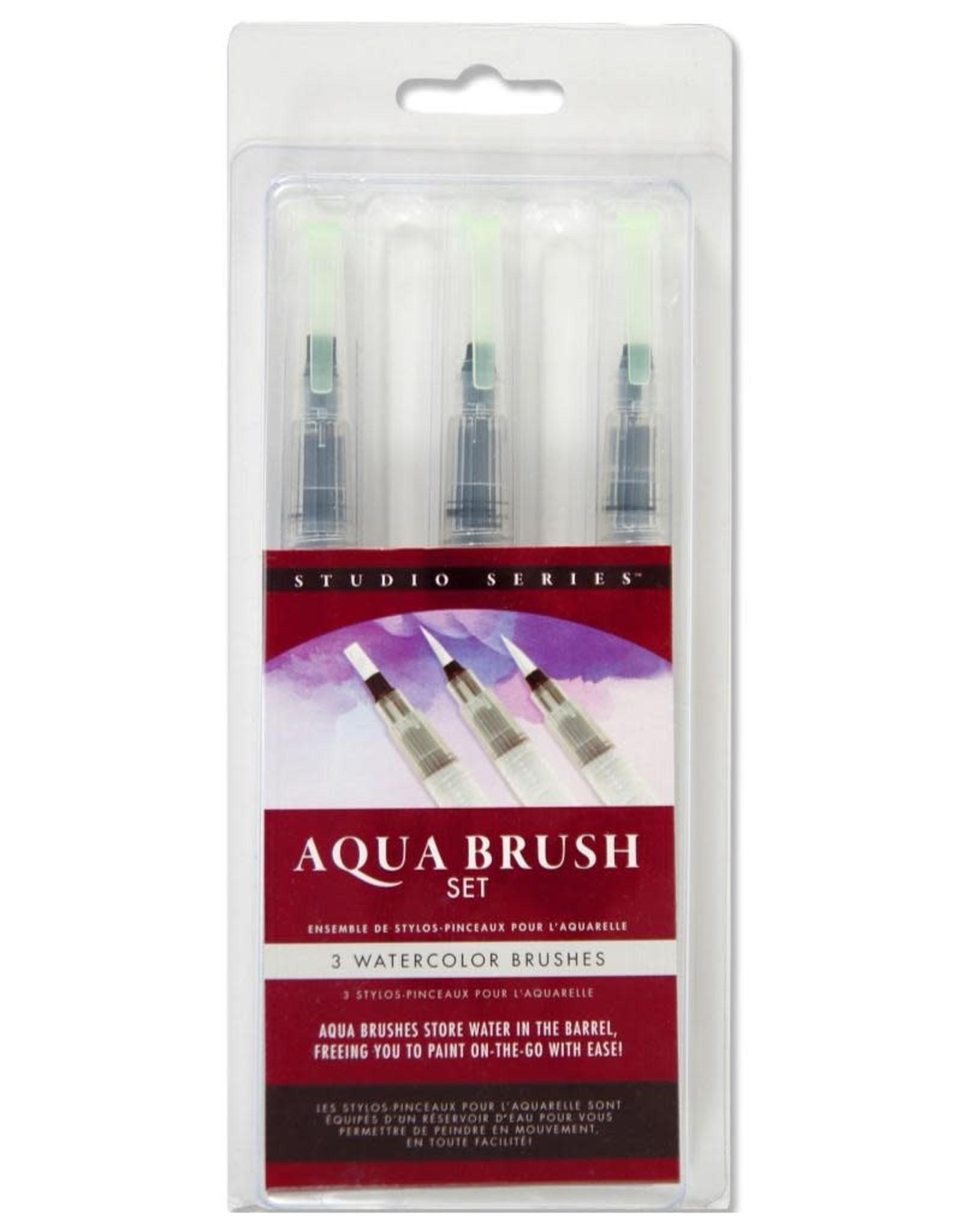 Peter Pauper Aqua Brush Set
