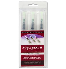 Peter Pauper Aqua Brush Set