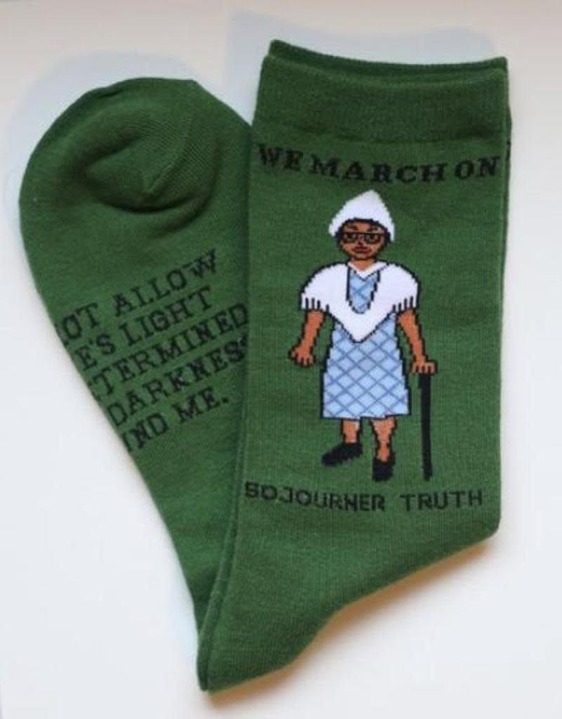 Maggie Stern Stitches Sojourner Truth Women's Crew Sock