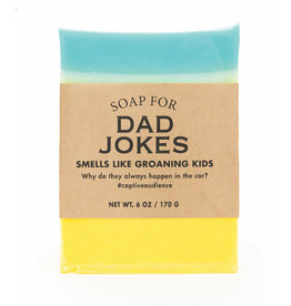 Whiskey River Soap Co. Dad Joke Soap 6 oz