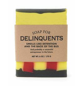 Whiskey River Soap Co. Delinquent Soap 6 oz