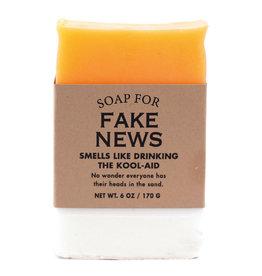 Whiskey River Soap Co. Fake News Soap 6 oz