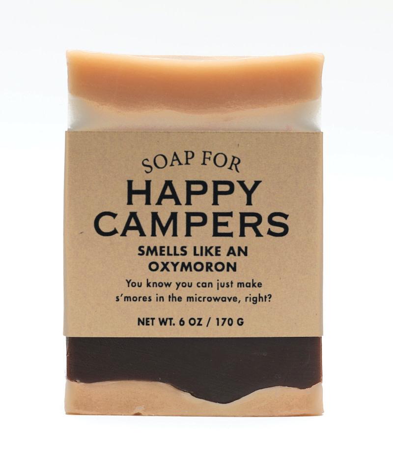 Whiskey River Soap Co. Happy Camper Soap 6 oz