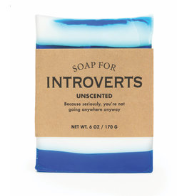 Whiskey River Soap Co. Introvert Soap 6 oz