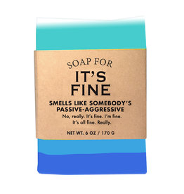 Whiskey River Soap Co. It's FIne Soap 6 oz