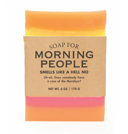 Whiskey River Soap Co. Morning People Soap 6 oz