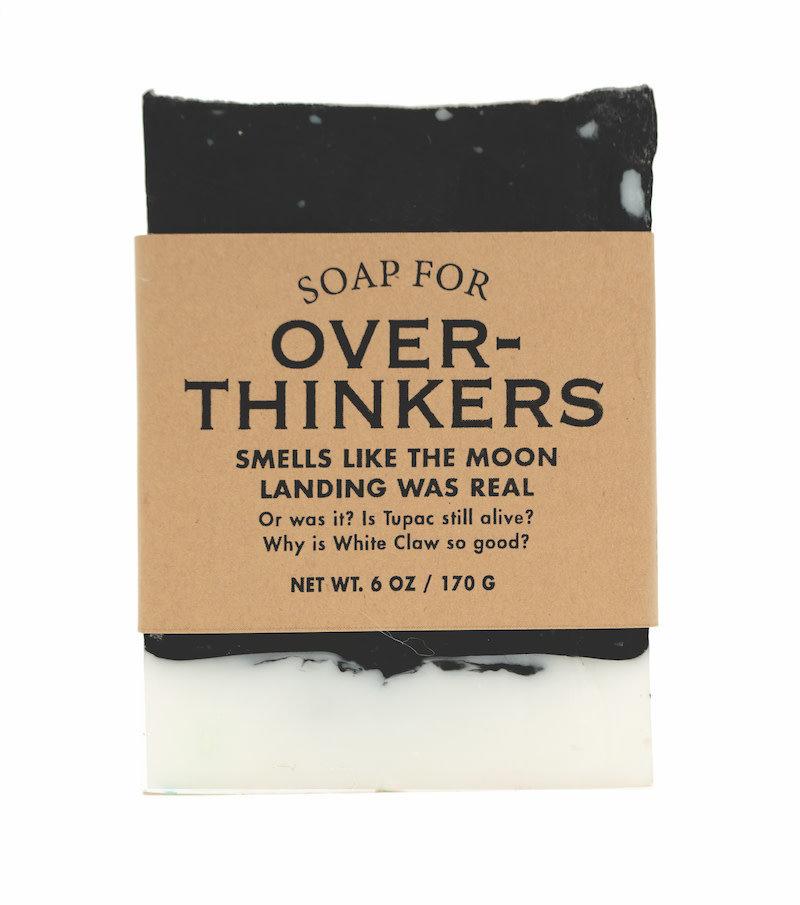 Whiskey River Soap Co. Overthinker Soap 6 oz