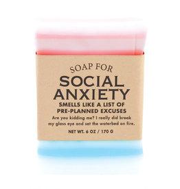 Whiskey River Soap Co. Social Anxiety Soap 6 oz