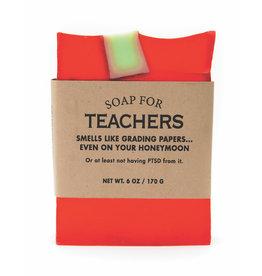 Whiskey River Soap Co. Teachers Soap 6 oz