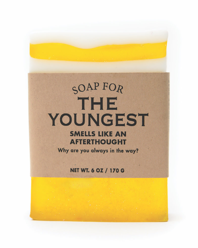 Whiskey River Soap Co. Youngest Child Soap 6 oz