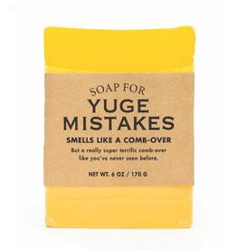 Whiskey River Soap Co. Yuge Mistakes Soap 6 oz