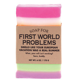 Whiskey River Soap Co. First World Problems Soap 6 oz