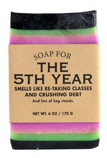 Whiskey River Soap Co. 5th Year Senior Soap 6 oz