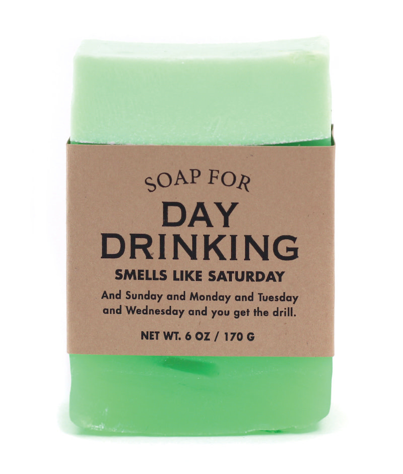 Whiskey River Soap Co. Day Drinking Soap 6 oz