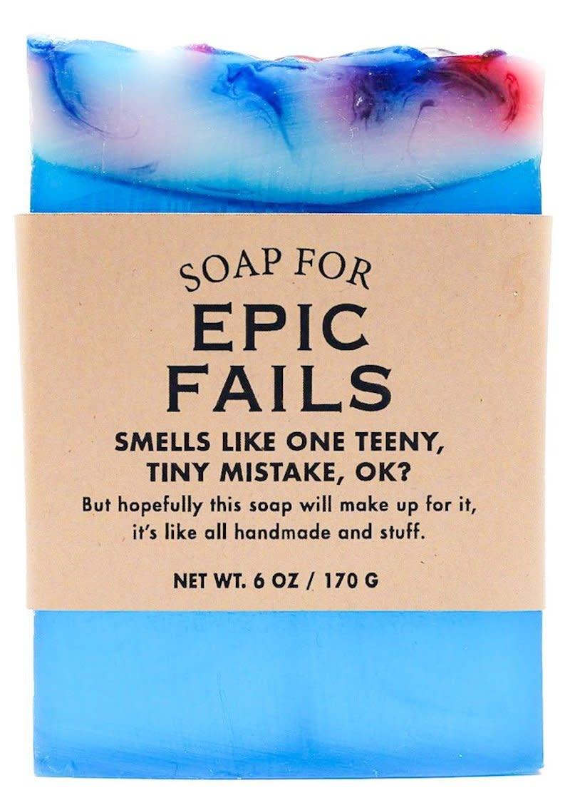 Whiskey River Soap Co. Epic Fail Soap 6 oz