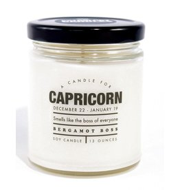 Whiskey River Soap Co. Astrology Candles Capricorn