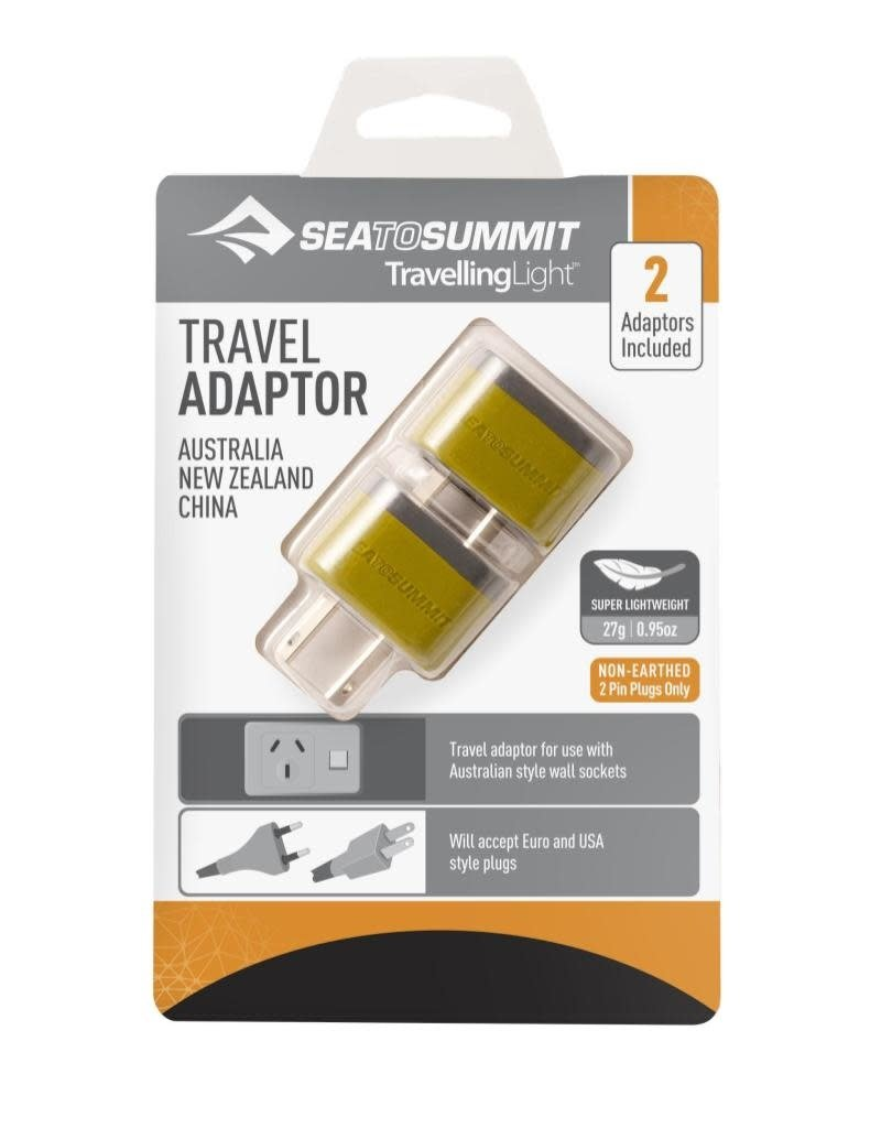 Sea To Summit Travelling Light Travel Adaptor