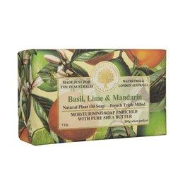 Wavertree & London Moisturizing Soap Basil, Lime, & Mandarin