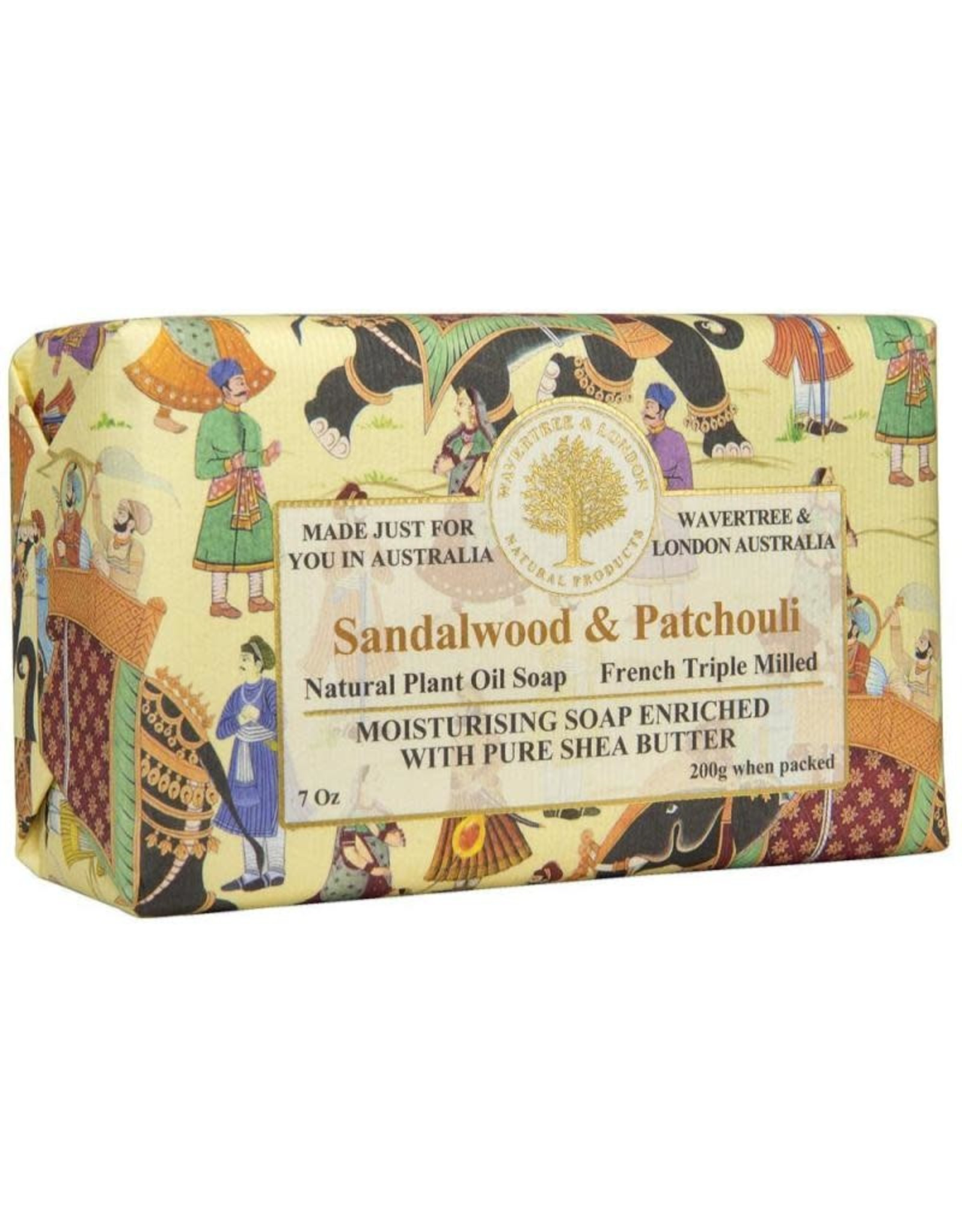Wavertree & London Moisturizing Soap Sandalwood & Patchouli