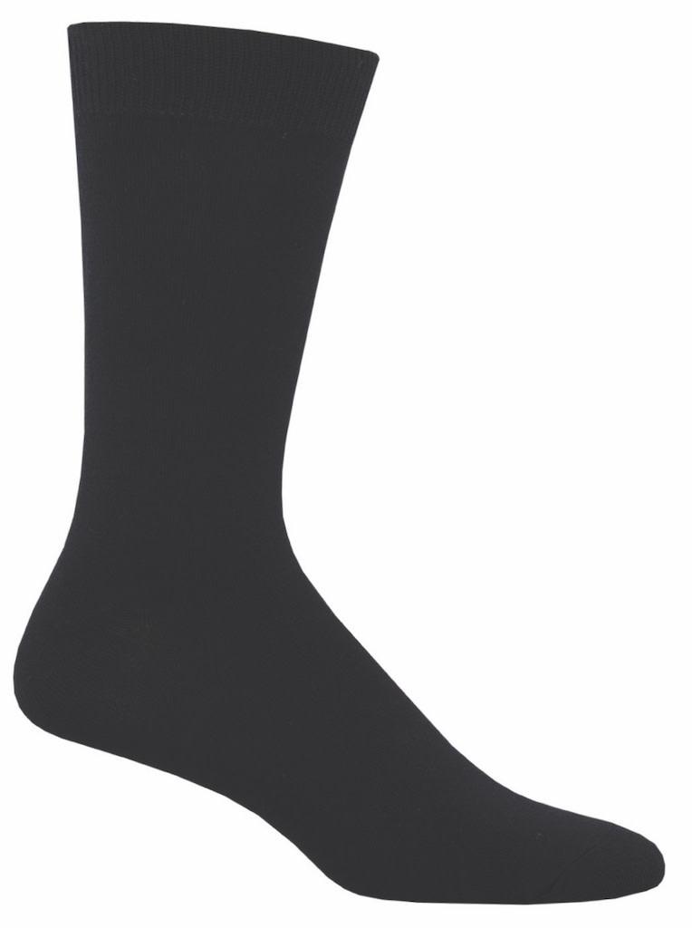 Socksmith Men's Black Bamboo Socks